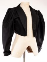 Frank Usher, a short black evening jacket,