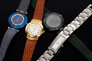 A Tissot Rock Watch and three other watches