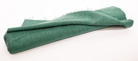 Gerry Carter (20th Century), a length of handwoven tweed fabric, suitable for a coat, 73cm wide,