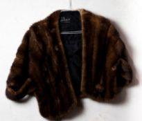 (lot of 3) Fur coats and shawls