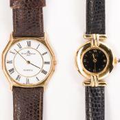 A group of wristwatches, Cartier & Baume & Mercier