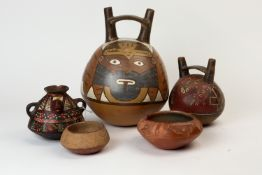 (lot of 5) Pre-Columbian group