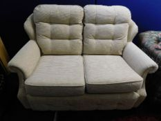 A modern G-Plan two seater sofa, 57in wide