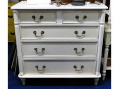 A Laura Ashley chest of drawers, 35.5in wide x 34.