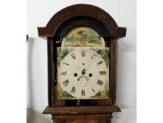 A c.1800 long case clock a/f, numerous faults, mak
