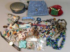 A quantity of various costume items including an e