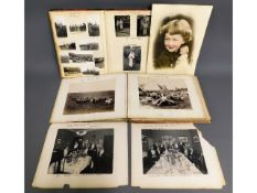 Two early 20thC. photo albums containing images re