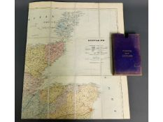 A Stanford map of Scotland with case