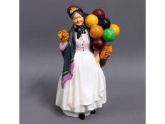 A Royal Doulton Biddy Penny Farthing HN1843 porcel