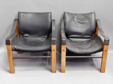 Three retro Arkana chairs by Maurice Burke finishe
