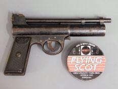 A Webley MkII 0.177 air pistol