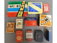 A Various card games & similar including John Jacq