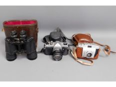 Camera equipment: Pentax SP100; Agfa Silette Vario