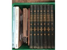Seven vols. of Shakespeare with colour plates by S