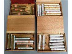 A quantity of 44 Cuban & Jamaican cigars, 24 in al