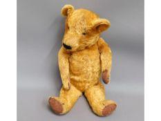 A vintage Chad Valley teddy bear
