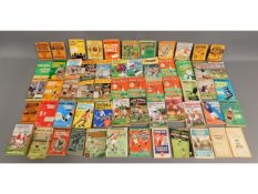 A quantity of approx. 61 football related annuals,