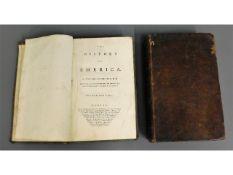 Book: Vols I & II Robertson's America - The Histor