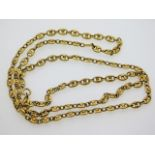 A 9ct gold chain, 30.75in long, 28.7g