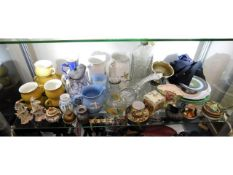 A quantity of mixed ceramics & other items, conten