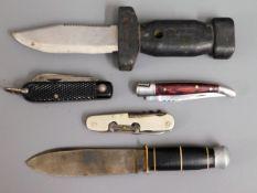 A German Baron Solingen knife, an army knife, poss