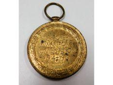 WW1 medal: 260033 Pte. J Whittles Leic. R