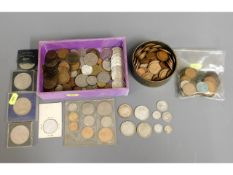 A quantity of mixed coinage