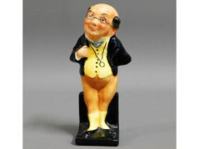 """A Doulton Dickens figure """"Pickwick"""", 3.75in tall"""
