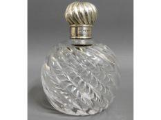 An 1886 Sampson Mordan & Co. London silver topped