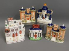 Four Victorian Staffordshire cottages twinned with