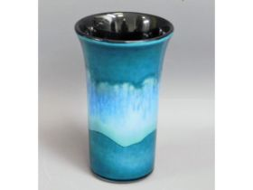 A Poole pottery vase by Nicky Massarella, 8in tall