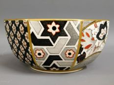 A Masons Applique pattern octagonal bowl, 6.8in wi