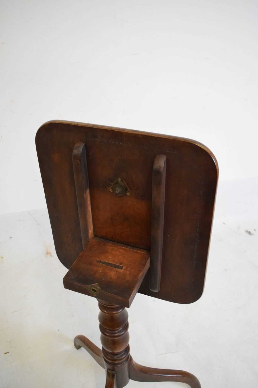 Victorian tripod occasional table - Image 3 of 4