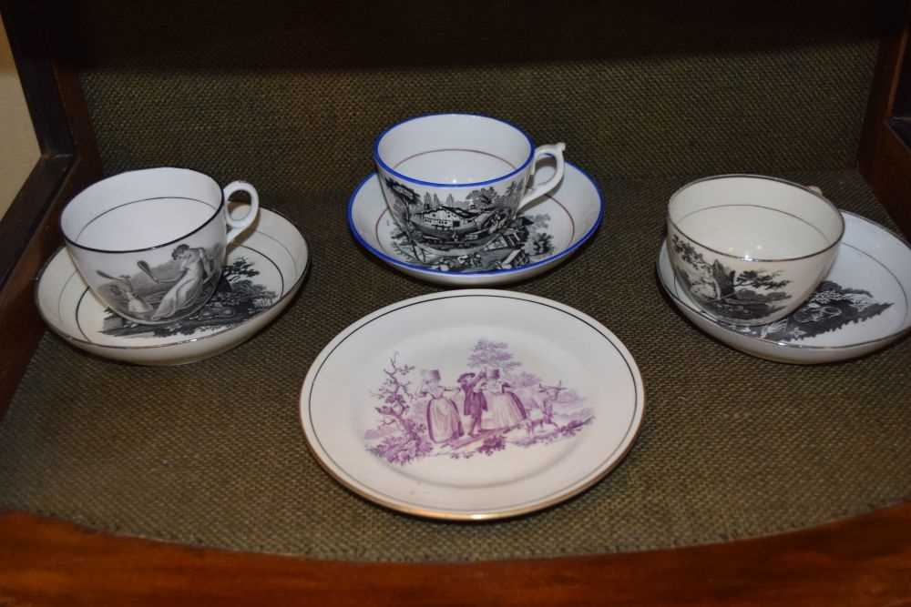 Quantity of late 18th Century / early 19th Century tea ware - Image 5 of 6