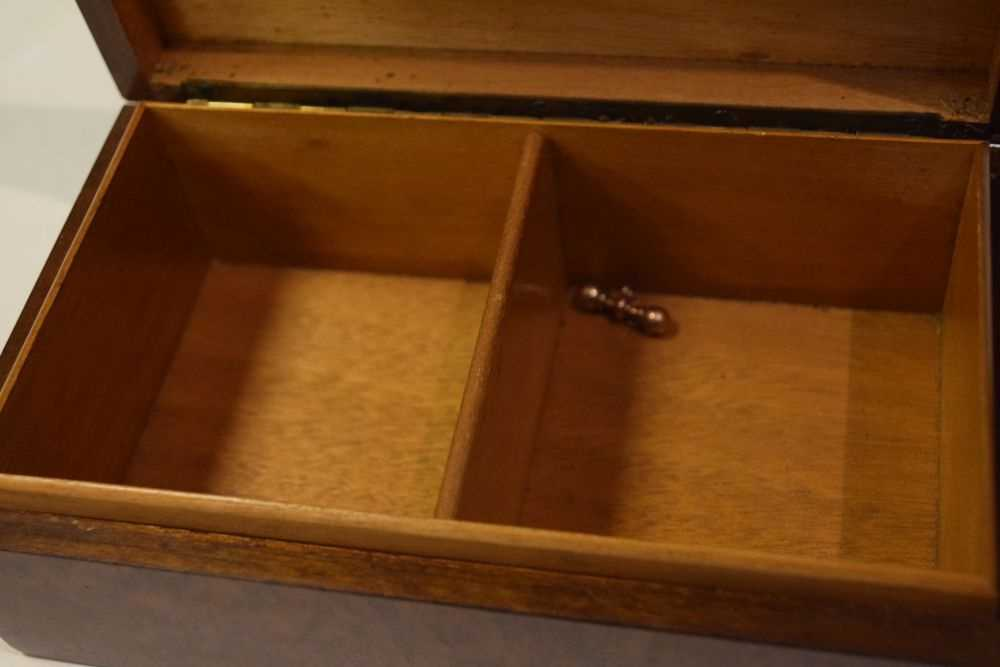 Two pairs gold plated cufflinks, etc in a table top box - Image 3 of 5