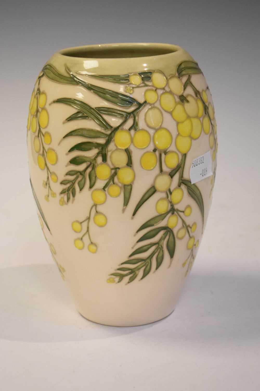 Moorcroft 'Wattle' vase - Image 3 of 6