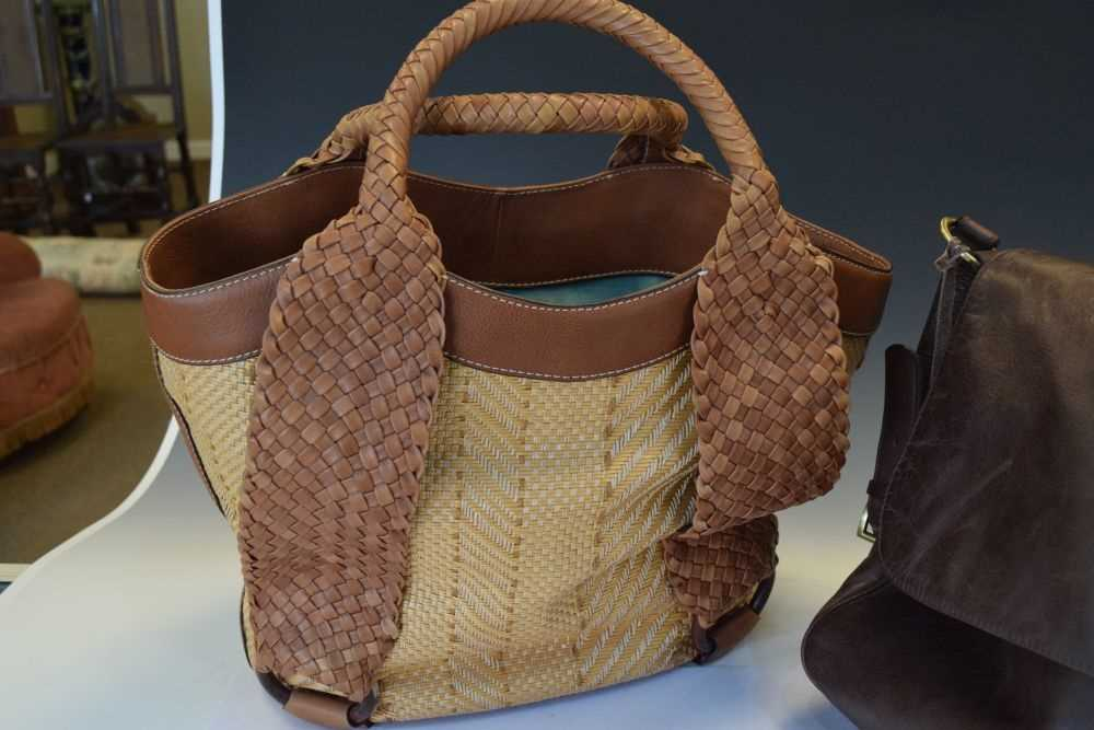 Cole Haan handbag, and an Aquamadonna bag (2) - Image 2 of 5