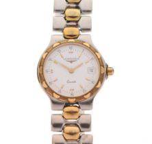 Longines - Lady's bimetallic quartz wristwatch