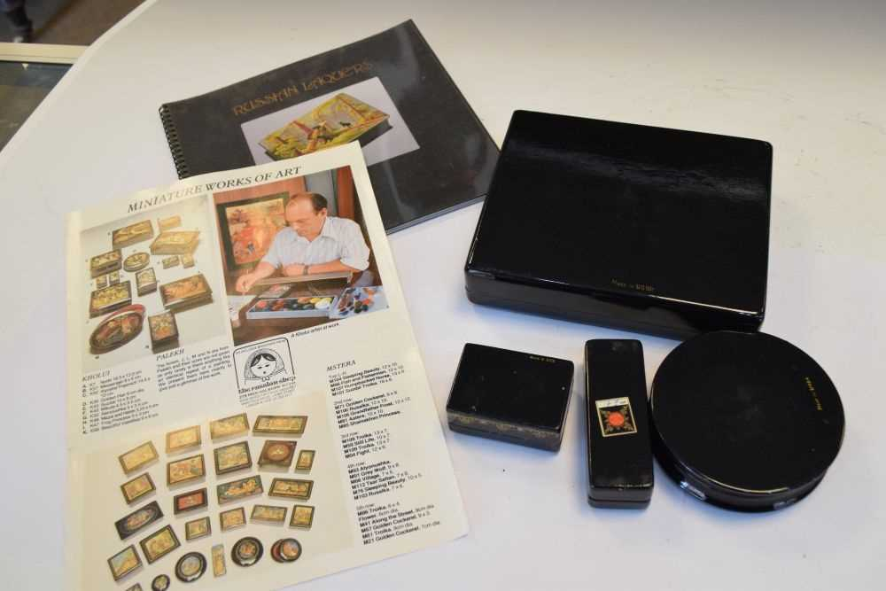 Collection of Russian boxes - Image 6 of 6