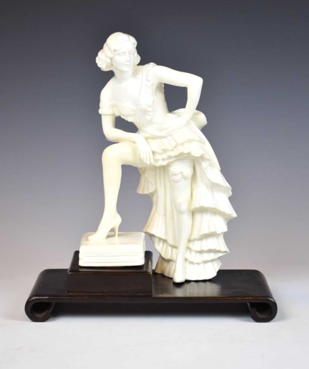 Royal Crown Derby figure of Anny Ahlers - Image 8 of 10