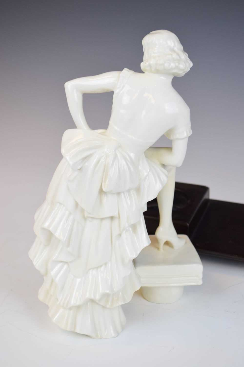 Royal Crown Derby figure of Anny Ahlers - Image 5 of 10
