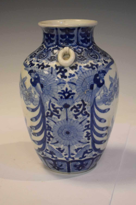 Chinese Blue and white vase - Image 3 of 7