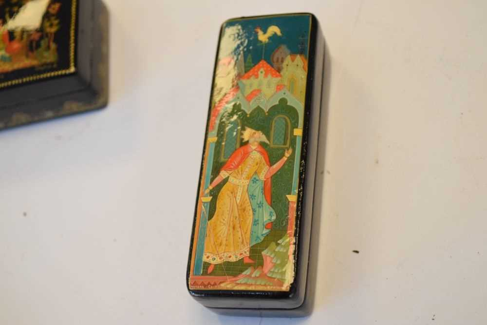 Collection of Russian boxes - Image 3 of 6
