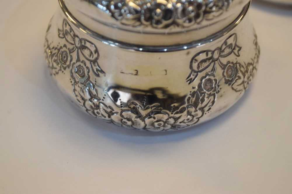 Quantity of silver and silver backed items - Image 6 of 8