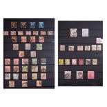 Collection of Great Britain postage stamps in one stock album