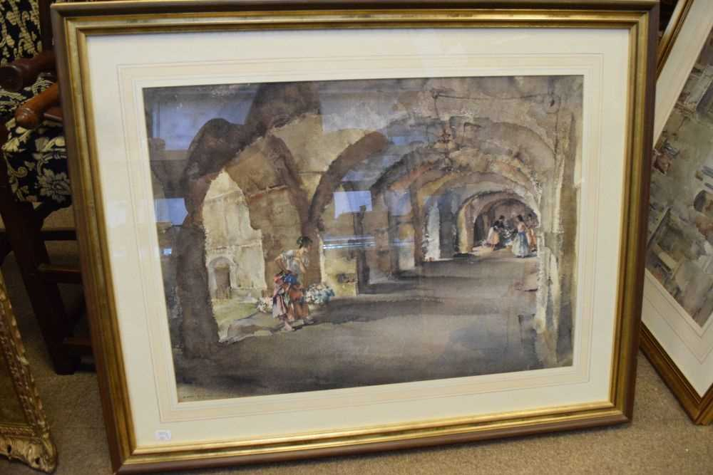 Five framed Russell Flint prints, unsigned - Image 7 of 7