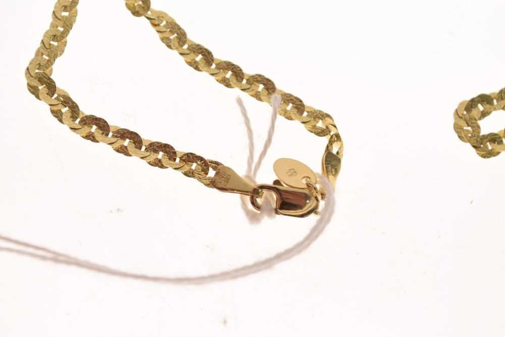 9ct gold necklace, 4.6g approx - Image 3 of 3