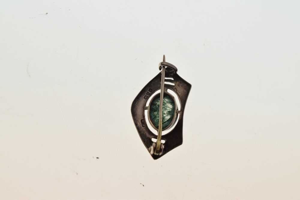 Charles Horner silver brooch - Image 2 of 2