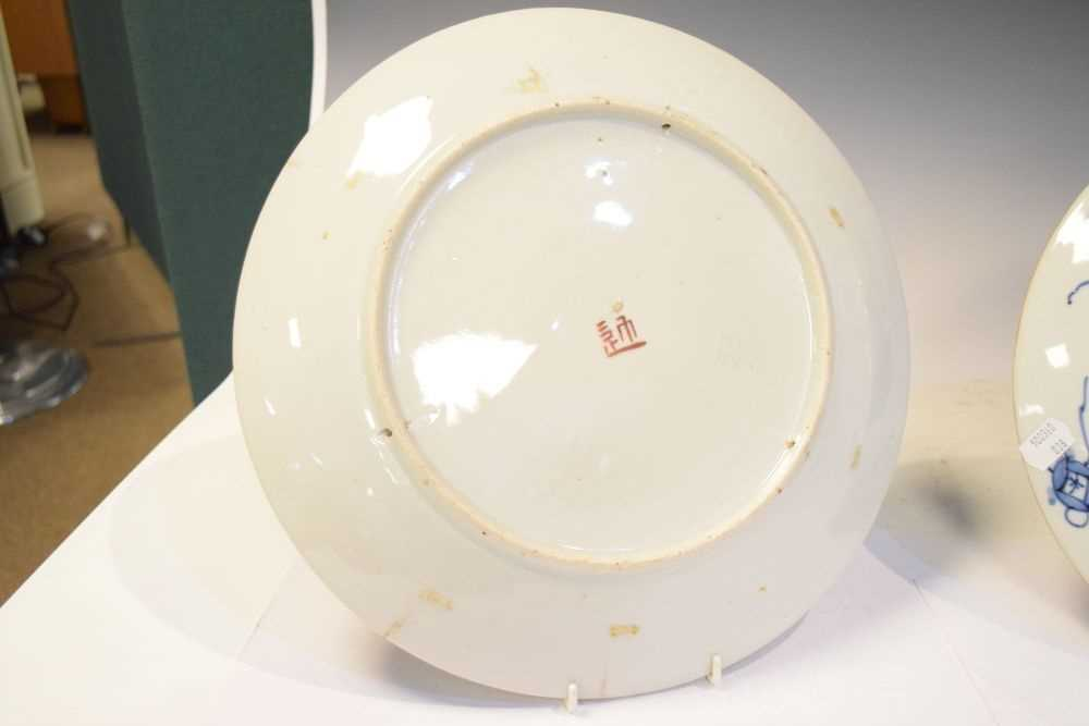 Two Japanese plates - Image 6 of 6