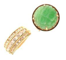 14ct gold dress ring